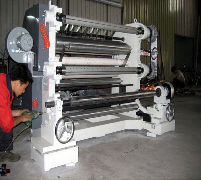 卷筒复合材料立式分切机