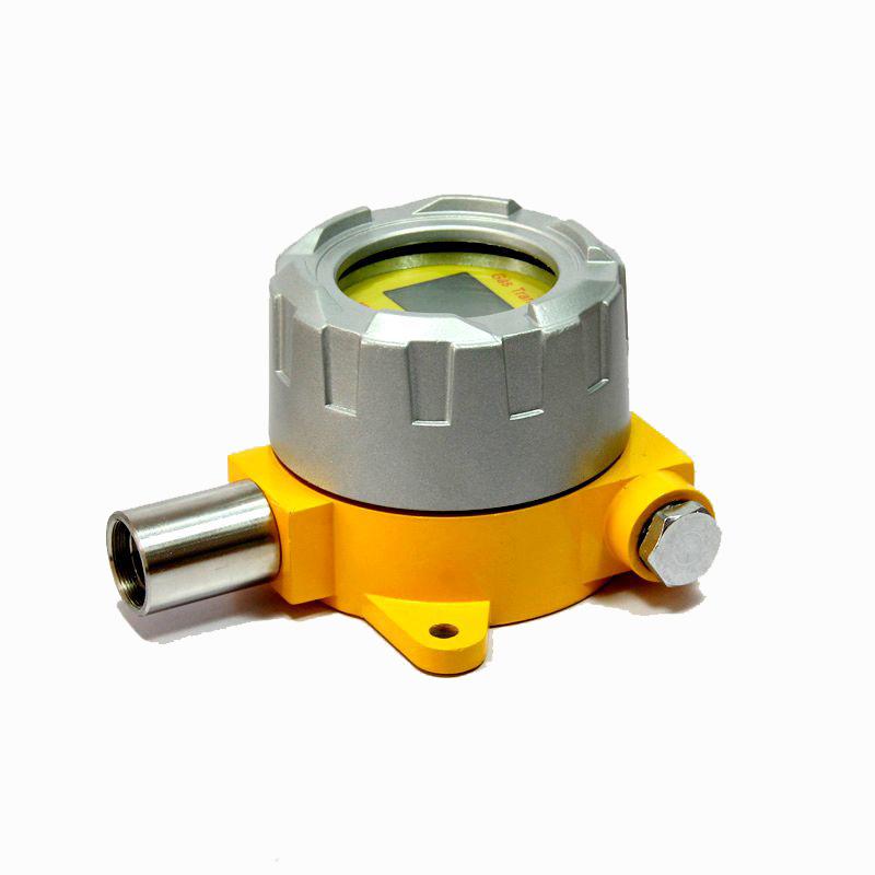可燃气体报警器由可燃气体探测器与可燃气体报警控制器组成,用以检测室内外危险场所可燃气体泄漏情况进行快速、可靠、稳定的监测报警。广泛应用于石油、燃气、化工、油库等存在可燃气体气体的石油化工行业,以保证生产和人身安全。 WMKY-2000T型可燃气体报警器由长寿命(催化燃烧式)进口传感器加高运速信号处理模块构成,通过信号处理模块将传感器输出的微弱信号转换成与被测浓度成正比的信号输出,可方便地引入DCS,PLC系统或其他控制系统,实现报警和控制。推荐使用我公司提供的报警控制器组成一套气体检测报警系统。 探测器产