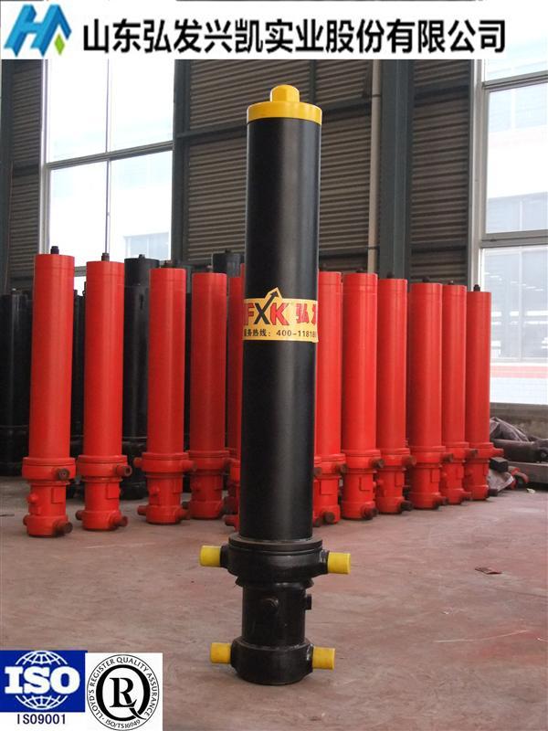 自卸车液压油缸4tg-e180*4000图片