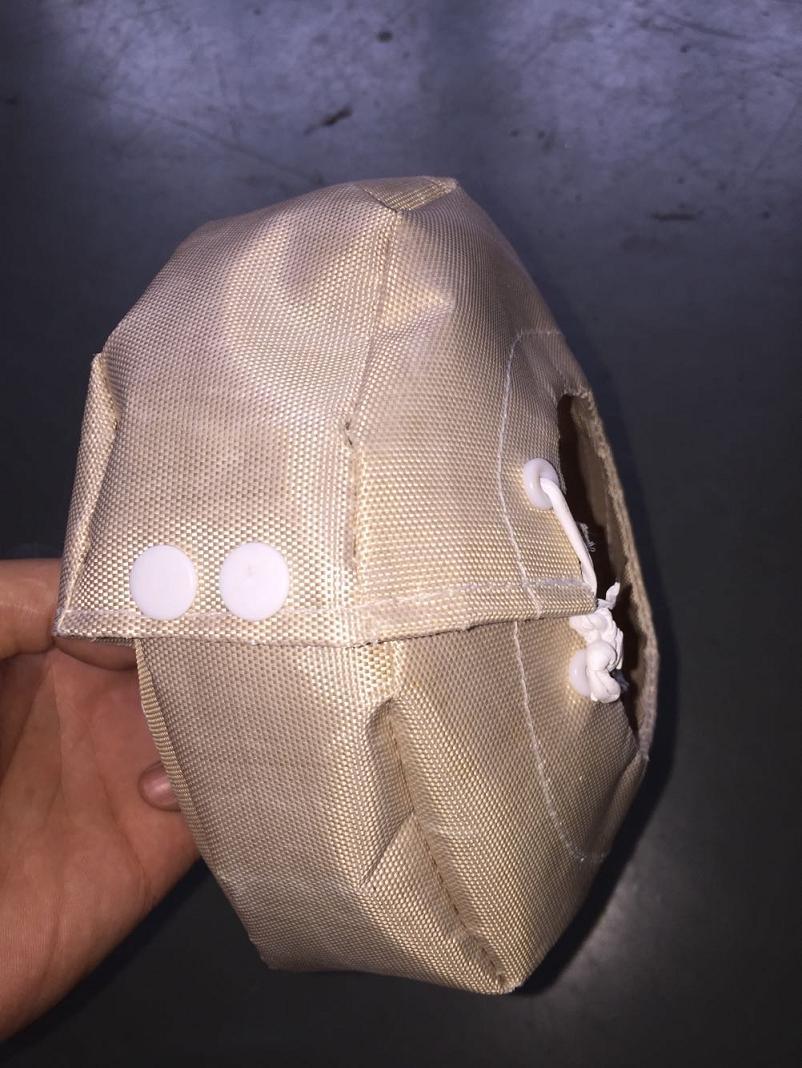 聚四氟乙烯防泄漏法兰、阀门保护罩