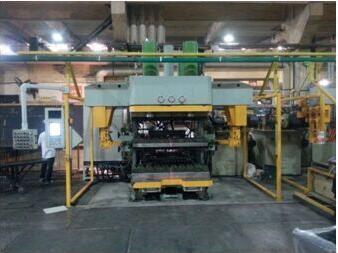 无接头橡胶履带硫化机成套设备,硫化机自主研发生产