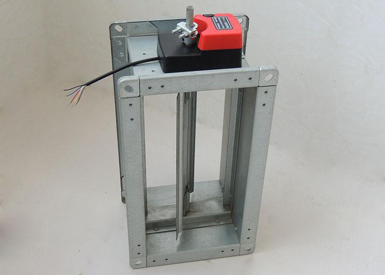 顺欣厂家df-a-Ⅰ电动多叶调节阀 电动风阀 风量调节阀图片