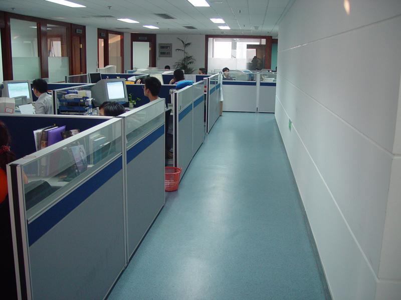 写字楼pvc地板|办公室地胶|塑胶地板图片