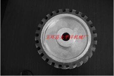 厂家直销砂带机抛光机配件-橡胶轮