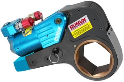 风电安装专用中空式液压扳手,电厂检修专用液压扳手,石油设备检