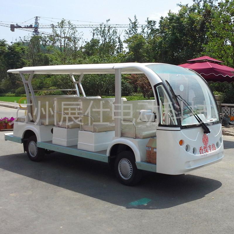 苏州14座电动观光车 酒店接待电瓶车 景区游览车
