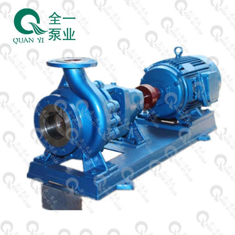 广州全一泵业IS型卧式清水不阻塞离心泵生活给水泵高吸程可配二级
