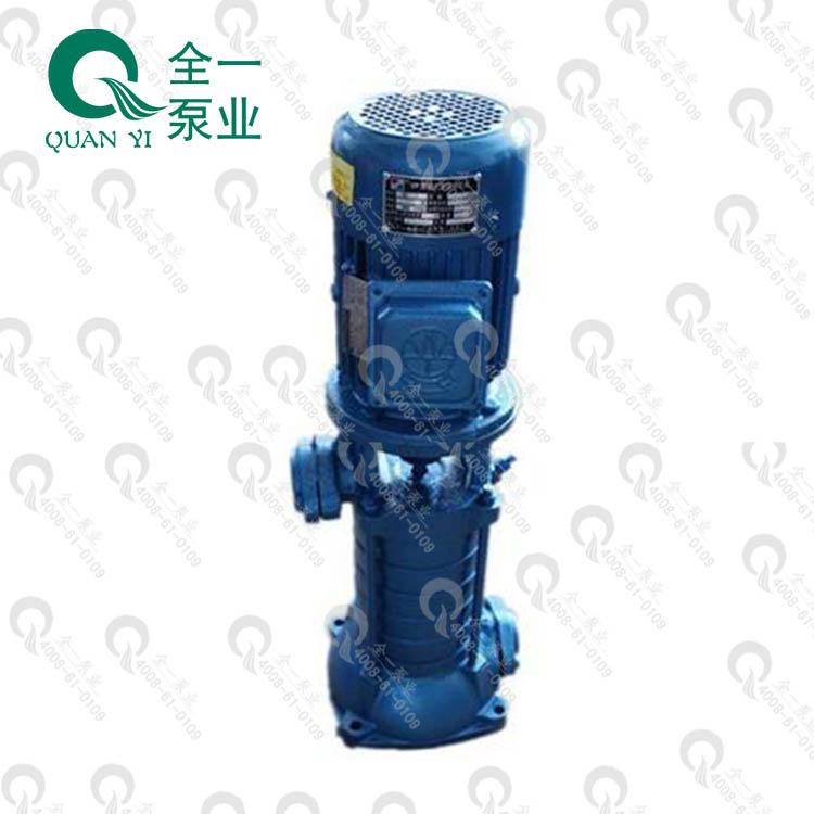 广州全一泵业VP VPF型立式多级高压离心泵可配二级能效高效电机