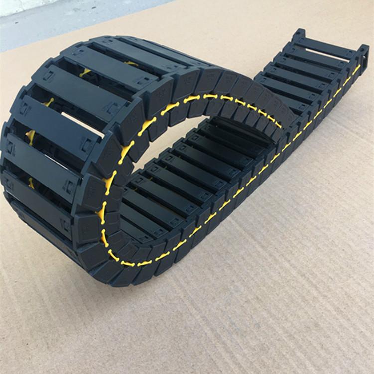 钢铝拖链 坦克链线槽 电缆拖链 工程穿线链条 2538 50 57 77 103