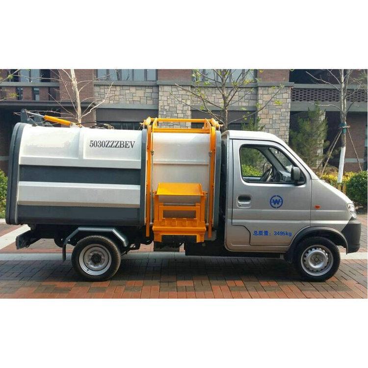 环卫垃圾车 电动清运车 可装卸式垃圾清运车