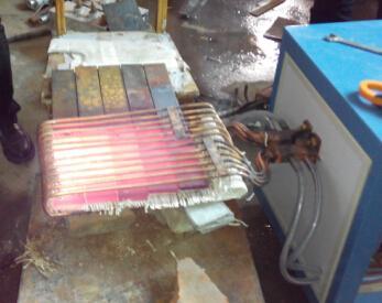 农用车板簧加热设备,矿用车板簧加热设备