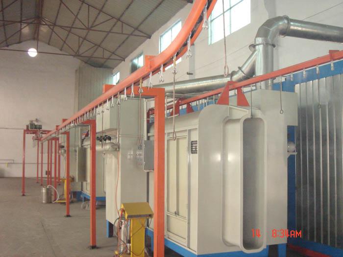 粉末静电喷涂设备 静电粉末涂装生产线