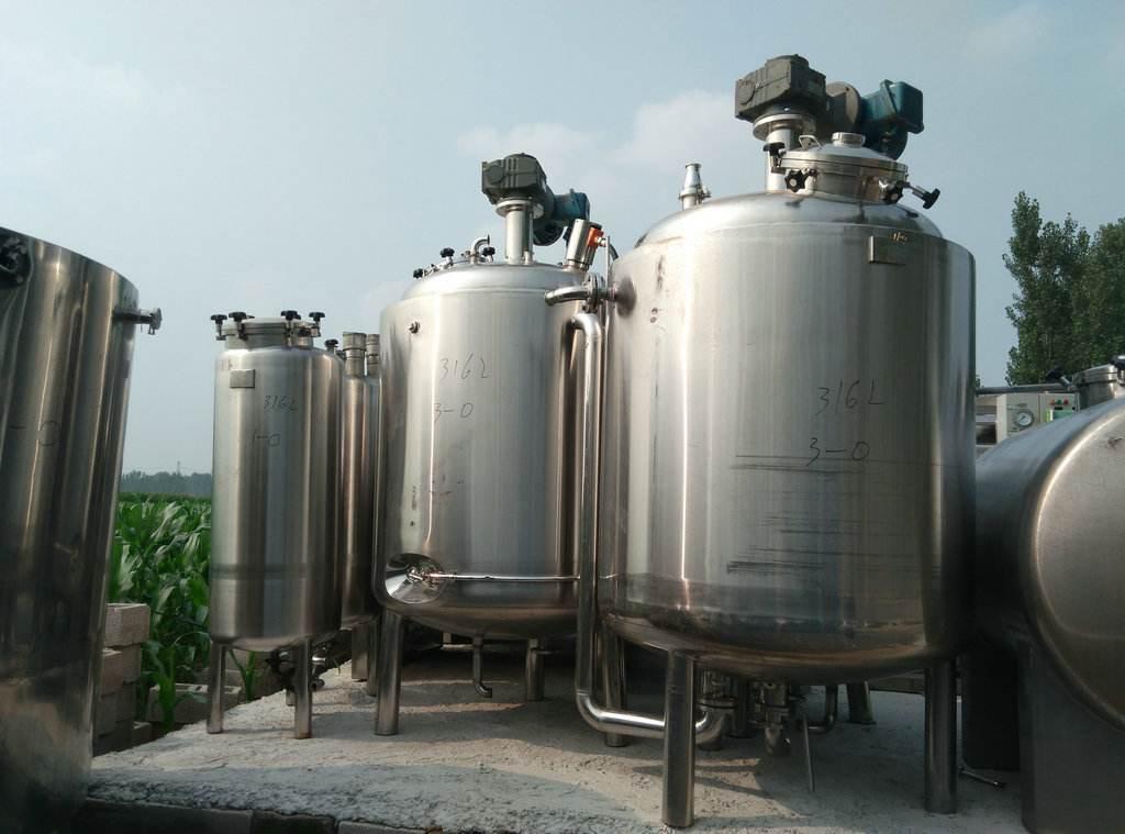 回收不锈钢发酵罐