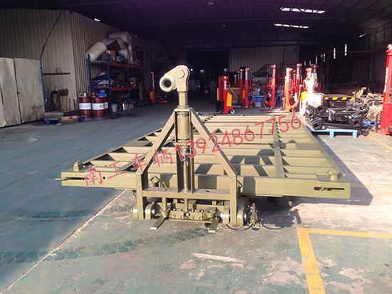 装甲20吨双牵引平板车