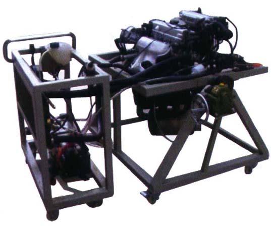 汽车电控发动机拆装实训台