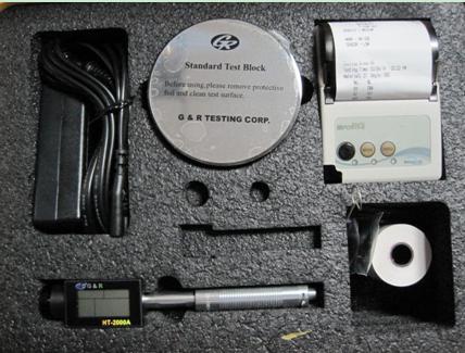 HT-2000美国进口杰瑞里氏硬度计/带打印机便携式里氏硬度计