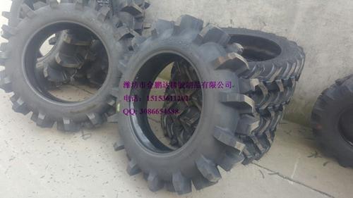 高花农用水田胎9.5-24 拖拉机轮胎 R2花纹