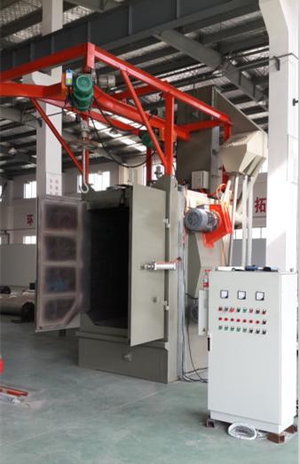 铝合金压铸件清理抛丸机,铝合金压铸件表面清理喷丸机