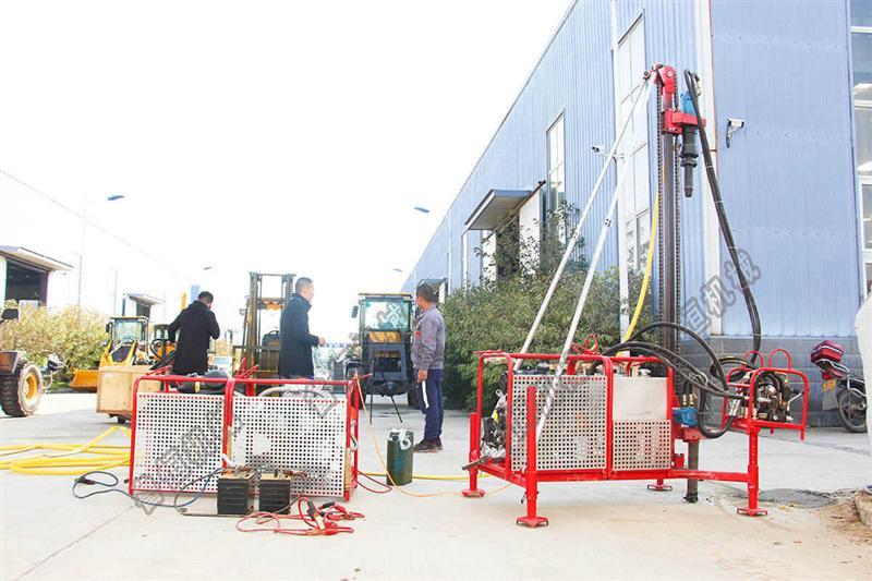 巴中市宜宾市山地钻机 勘探钻机 整套直发30米包运费