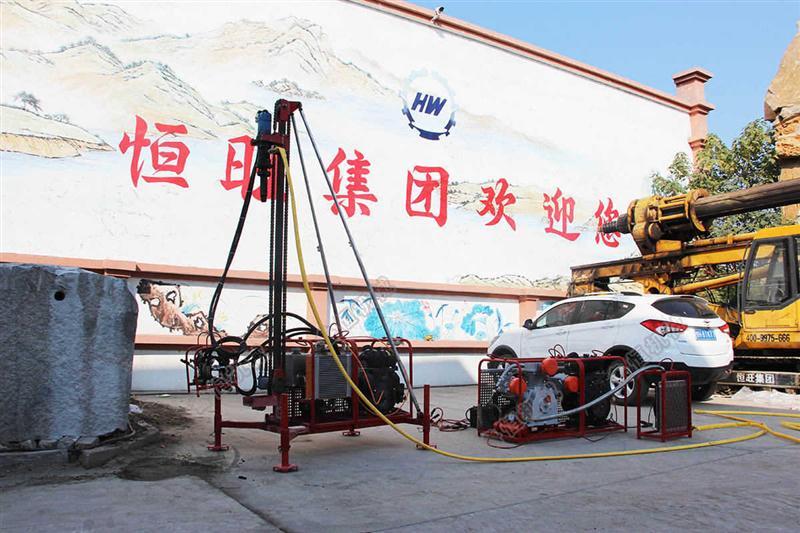 南川区 武陵区 长寿区勘探钻机HZD-30 气动高效勘探取芯钻孔机
