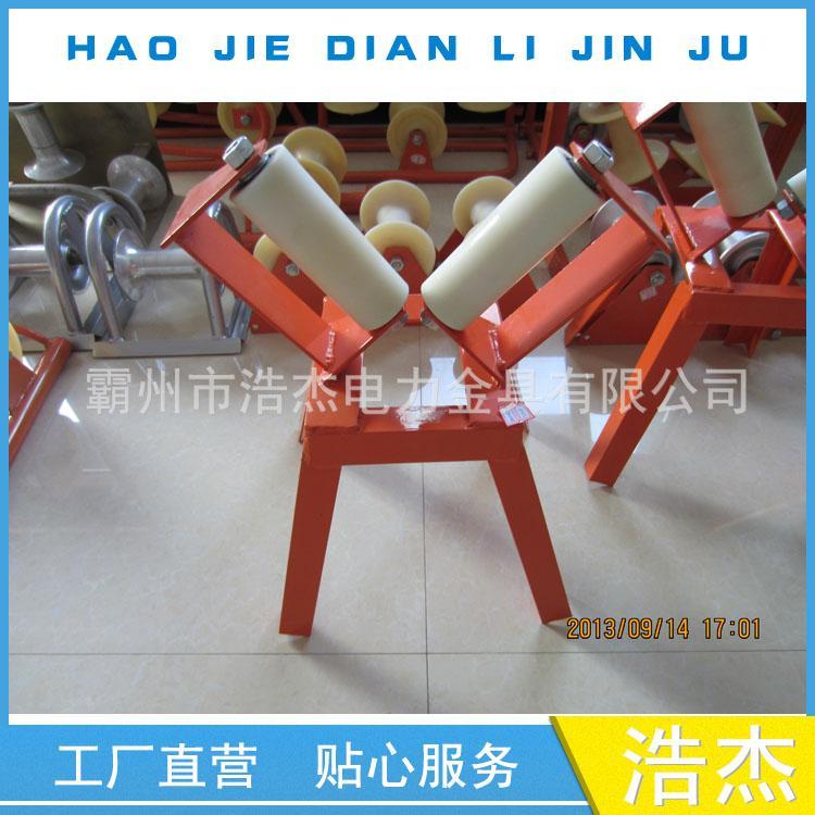 双V字转向滑轮 V型电缆滑车 双转向滑子 电缆托辊 放电缆滑轮