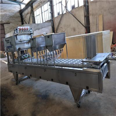 鸭血灌装机 全自动盒装鸭血灌装封口机 武汉鸭血设备厂家