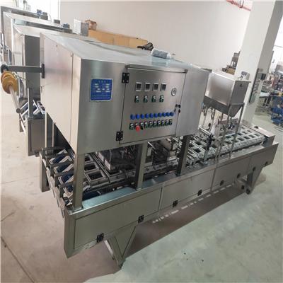 全自动盒装豆腐灌装封口机 内酯豆腐灌装封口机生产厂家