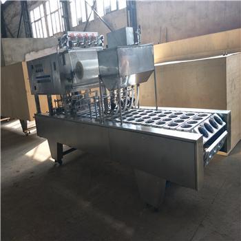 四川宜宾凉糕全自动包装生产线 碗装凉糕灌装封口机厂家
