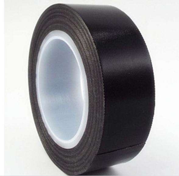 特氟龙胶带 绝缘耐磨隔热高温布耐高温300度封口机 铁氟龙高温胶