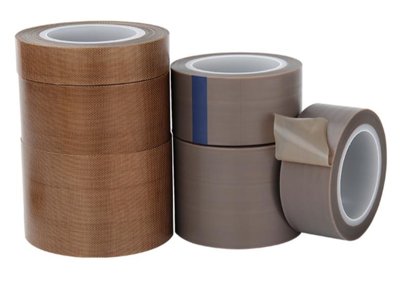 特氟龙胶带 绝缘耐磨隔热耐高温300度真空封口机 铁氟龙高温胶布