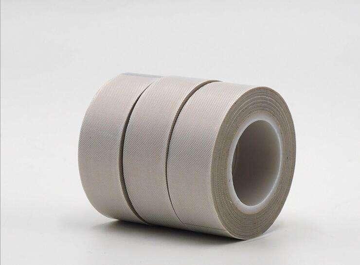 进口特氟龙胶带白色铁氟龙高温胶布0.13mm厚封口机耐高温耐磨绝缘