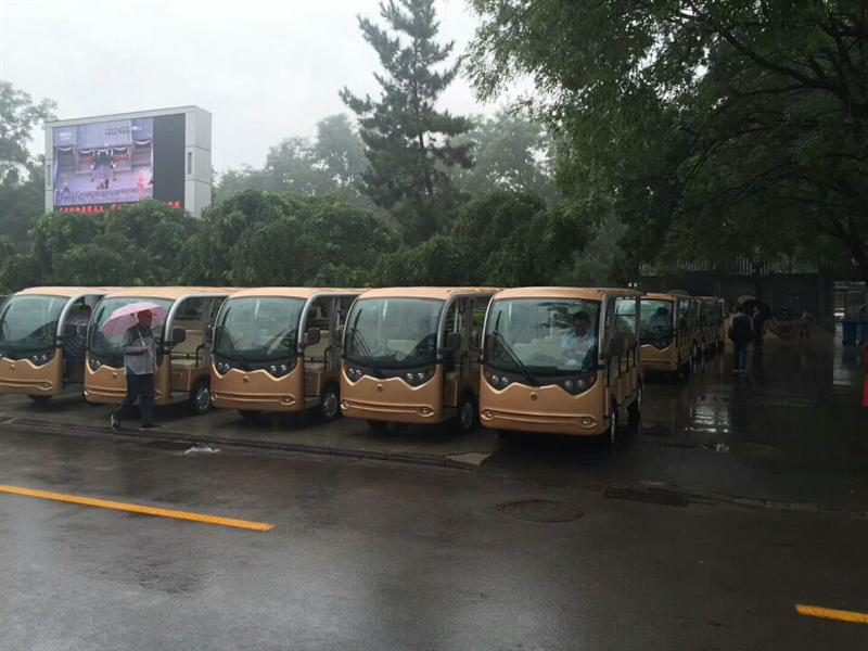 甘肃2018年新款校园摆渡观光车、校园营运电动车