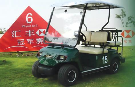 甘肃、河北2018年新款绿通高尔夫球场专用电动车