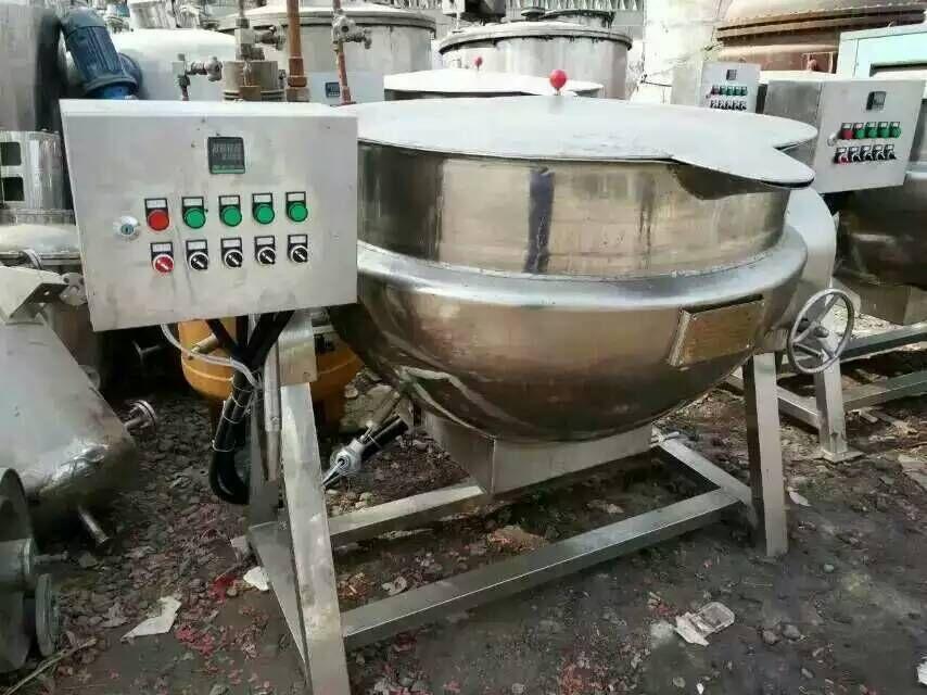 高价回收二手行星搅拌炒料锅