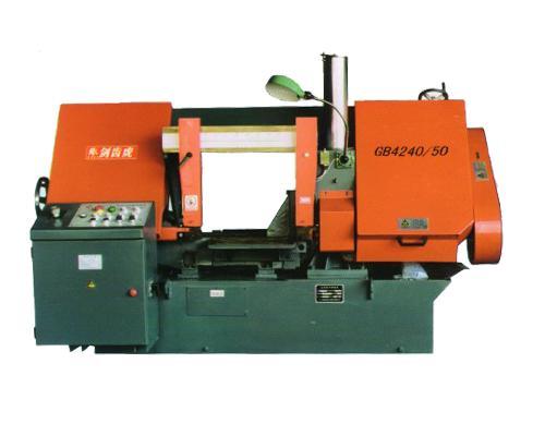 浙江GB4230/40A双立柱卧式带锯床
