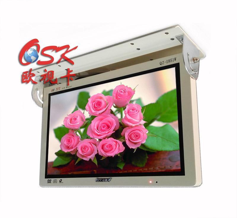18.5寸吸顶车载液晶显示器QZ-1851 全接口AV BNC VGA HDMI 24V