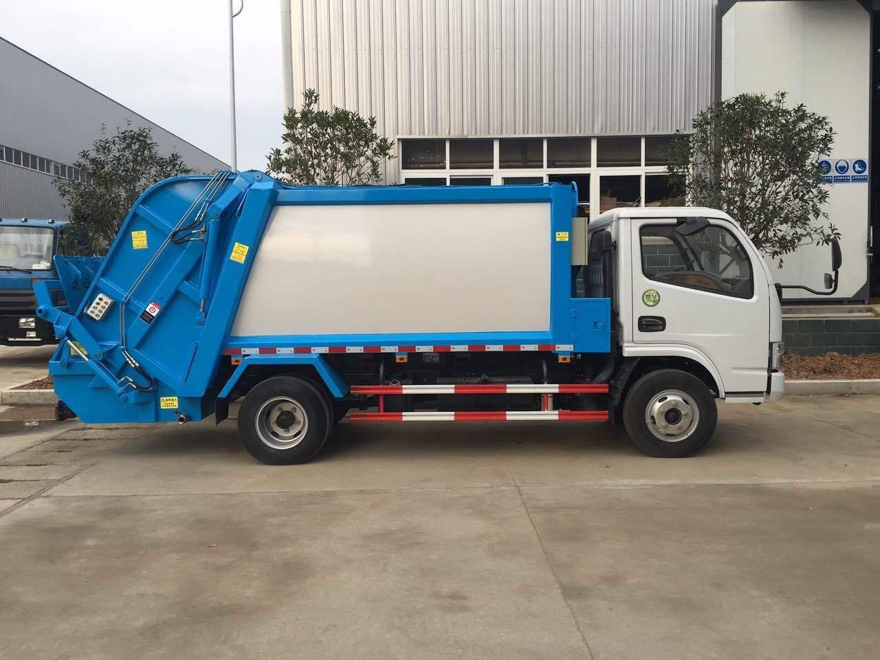 东风多利卡压缩垃圾车报价 山东祥农专用车辆有限公司