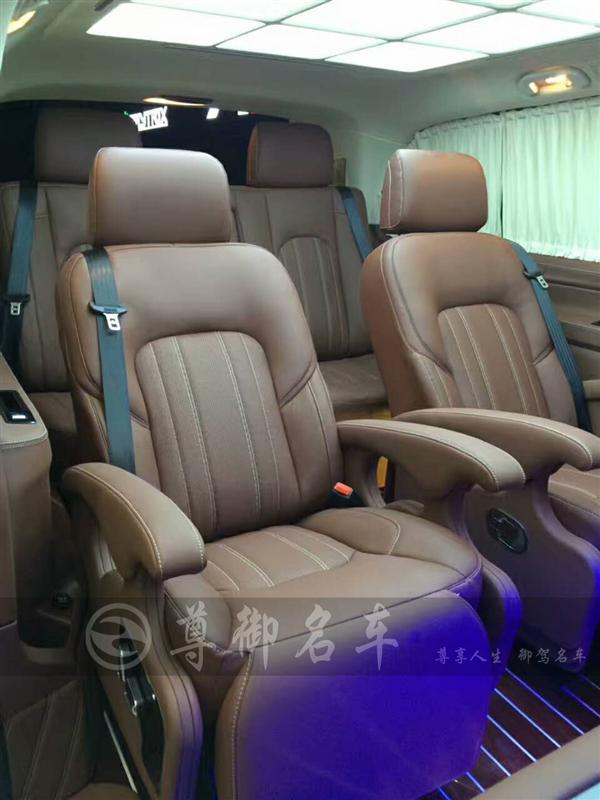 深圳尊御名车奔驰威霆内饰高端定制、内饰改装、按摩航空座椅