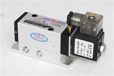 Q24DB系列二位四通滑板式电磁换向阀