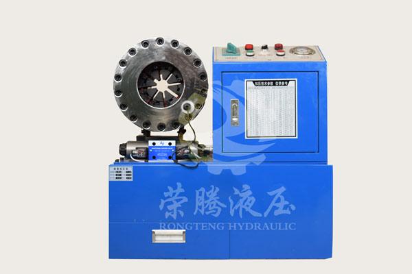 胶管接头压管机专业生产厂家济南荣腾制造