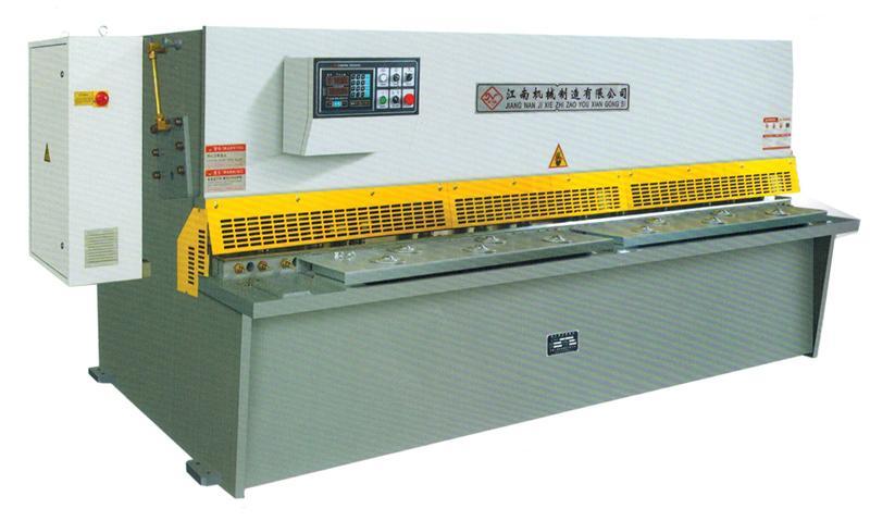 QC12Y-4X2500液压摆式数显剪板机