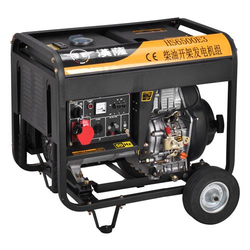 5千瓦三相电启动柴油发电机进口
