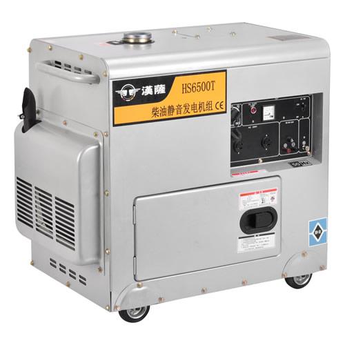 进口汉萨5千瓦单相静音柴油发电机直销