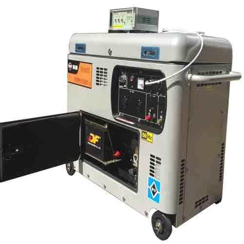 全自动ATS5千瓦静音柴油发电机低油耗