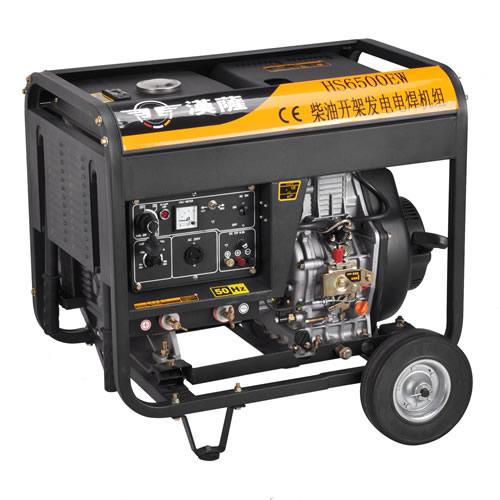 进口汉萨190A发电电焊机一体机