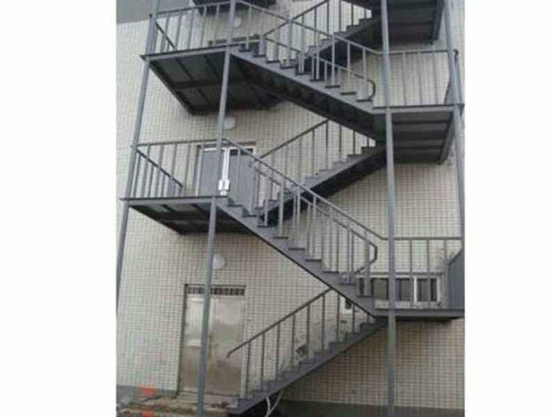 钢结构楼梯厂家/福鑫腾达承接工程售后保证