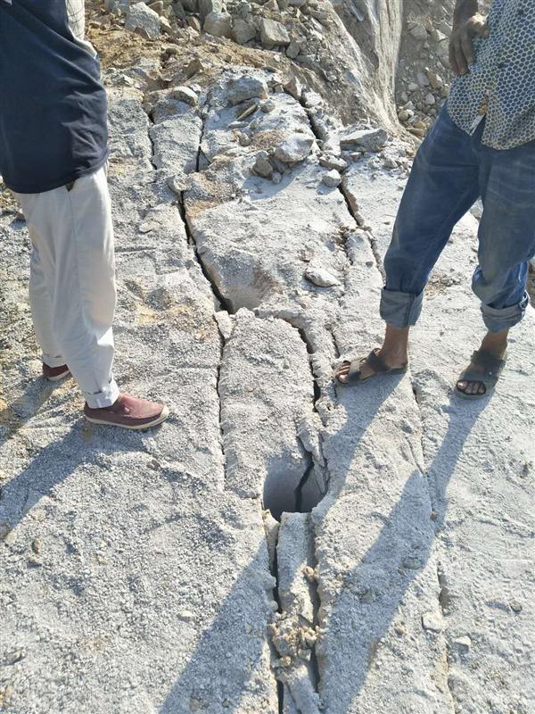 安徽巢湖静态膨胀劈裂机