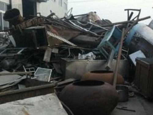 北京废铁废品物资回收公司大量收购废铁机械设备价格