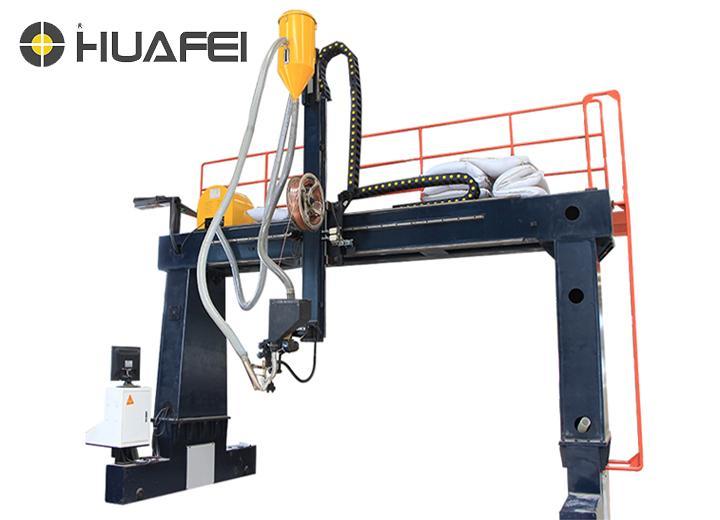 塔杆外纵缝焊接专机