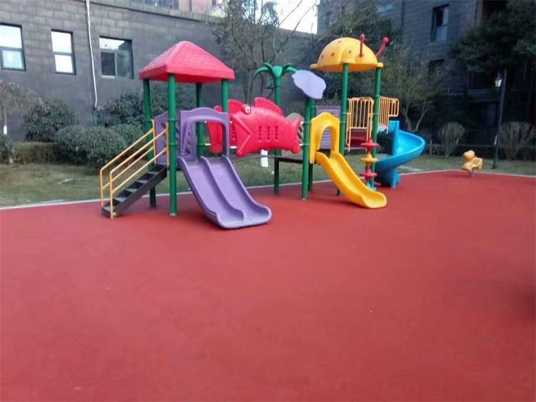 杭州塑胶地坪施工